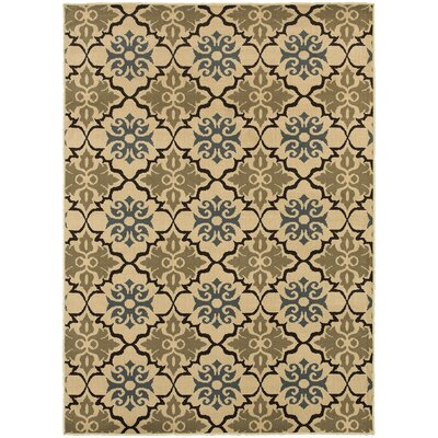 Sheridan Blue/Green Area Rug Rug Size: Rectangle 67 x 93