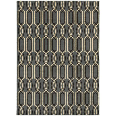 Sheridan Blue/Ivory Area Rug Rug Size: Runner 11 x 73