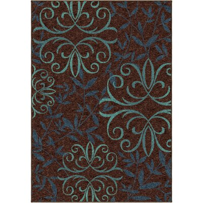 Simon Brown Indoor/Outdoor Area Rug