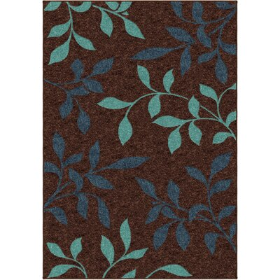 Serena Brown Indoor/Outdoor Area Rug