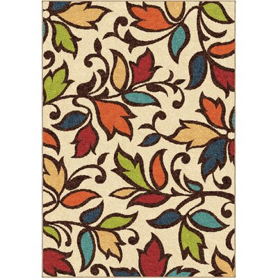 Bedford Cream Indoor/Outdoor Area Rug