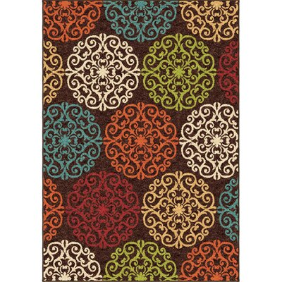 Guilford Brown Indoor/Outdoor Area Rug