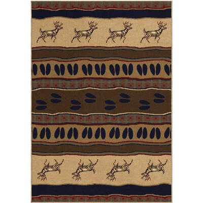 Trafalgar Brown Area Rug Rug Size: Rectangle 710 x 1010