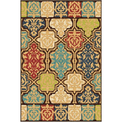 Helen Cream/Grey Indoor/Outdoor Area Rug Rug Size: 78 x 1010