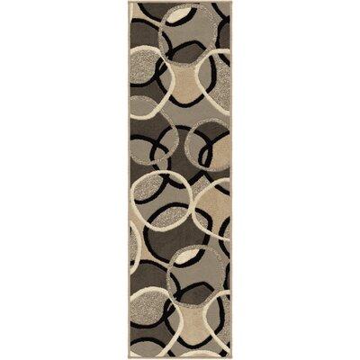Staton Grey Area Rug Rug Size: Runner 23 x 8