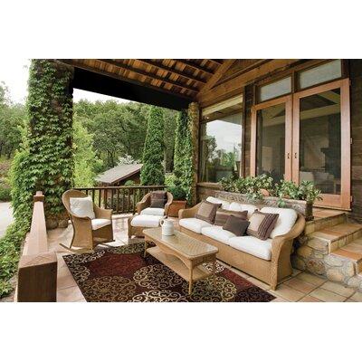 Cameron Brown Indoor/Outdoor Area Rug Rug Size: Rectangle 52 x 76