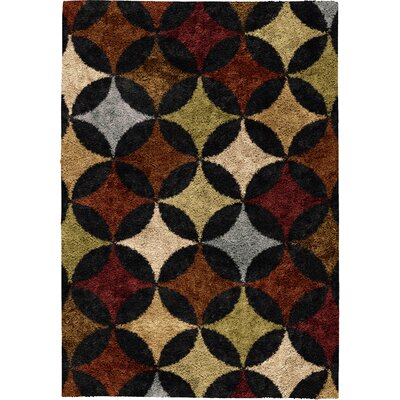Keene Brown Area Rug Rug Size: 710 x 1010