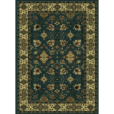 Columbus Dark Area Rug Rug Size: 55 x 77