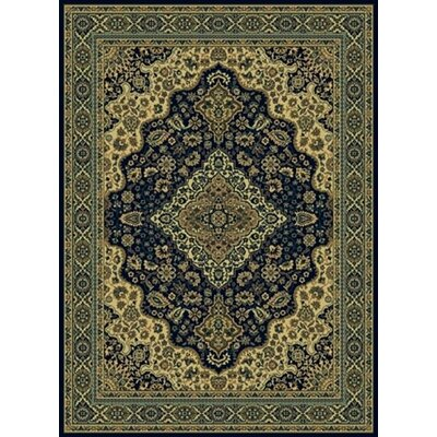 Columbus Navy Area Rug Rug Size: 3'3