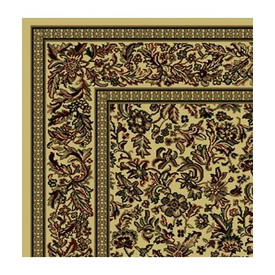 Columbus Ivory Area Rug Rug Size: Runner 22 x 77