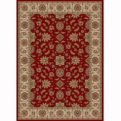 Colebrook Red Area Rug Rug Size: 33 x 411
