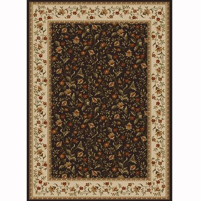 Colebrook Brown Area Rug Rug Size: Rectangle 79 x 11