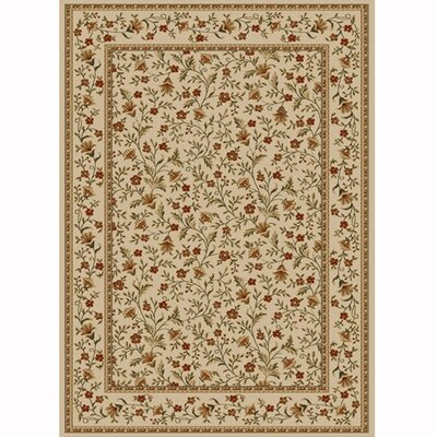 Colebrook Ivory Area Rug Rug Size: Rectangle 910 x 1210