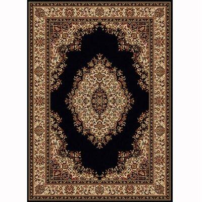 Colebrook Black Area Rug Rug Size: 79 x 11
