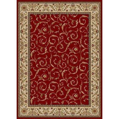 Colebrook Red Area Rug Rug Size: 79 x 11