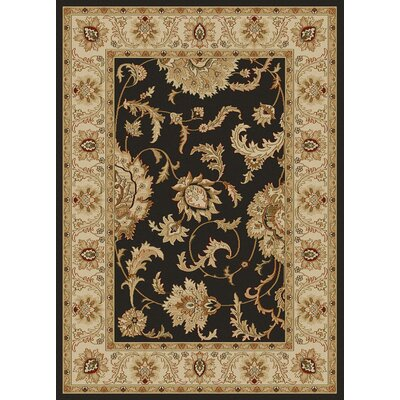 Colebrook Brown Area Rug Rug Size: 910 x 1210