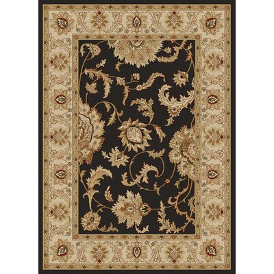 Colebrook Brown Area Rug Rug Size: 55 x 77