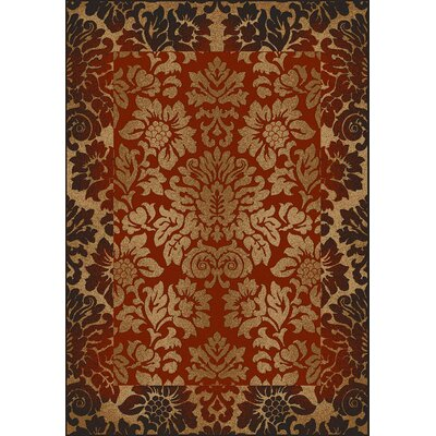 Colebrook Brick Area Rug Rug Size: Rectangle 33 x 411