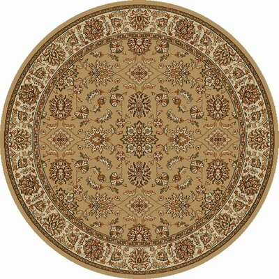 Colebrook Beige/Brown Area Rug Rug Size: 55 x 77