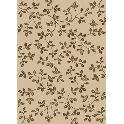 Stamford Ivory Area Rug Rug Size: Runner 22 x 77