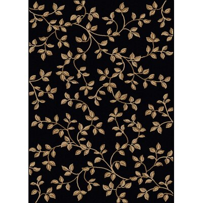 Rockport Black Area Rug Rug Size: 33 x 411