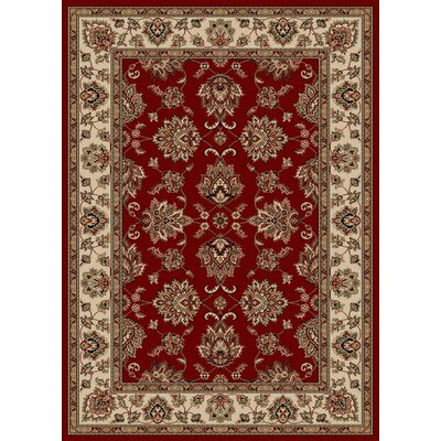 Stamford Red Area Rug Rug Size: 33 x 411