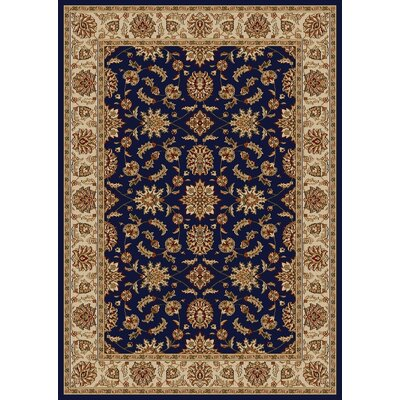 Colebrook Navy Area Rug Rug Size: Rectangle 55 x 77