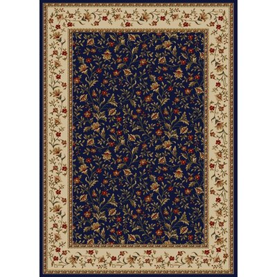 Colebrook Navy Area Rug Rug Size: Rectangle 79 x 11