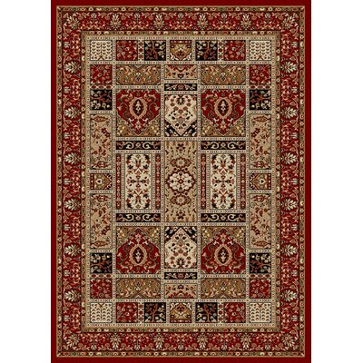 Colebrook Red Area Rug Rug Size: 22 x 77