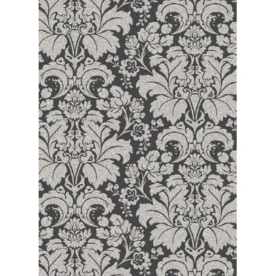 Addison Grey/Silver Area Rug Color: Grey / Silver, Rug Size: Runner 22 x 77