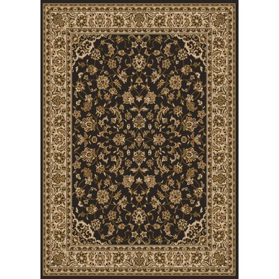 Colebrook Brown Area Rug Rug Size: 79 x 11