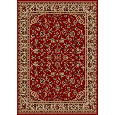 Colebrook Red Area Rug Rug Size: 79 x 11