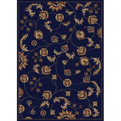 Colebrook Blue Area Rug Rug Size: 910 x 1210