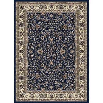 Weiser Blue Oriental Area Rug Rug Size: Rectangle 55 x 77