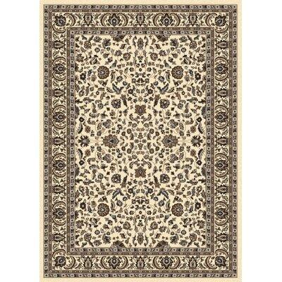 Weiser Ivory Oriental Area Rug Rug Size: 55 x 77