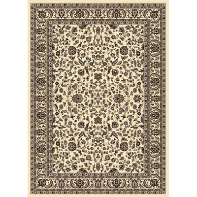 Weiser Ivory Oriental Area Rug Rug Size: 79 x 11