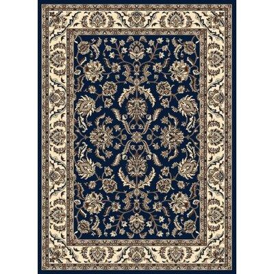 Windsor Blue Area Rug Rug Size: 79 x 11