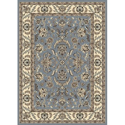 Weiser Rectangle Blue Area Rug Rug Size: Rectangle 910 x 1210