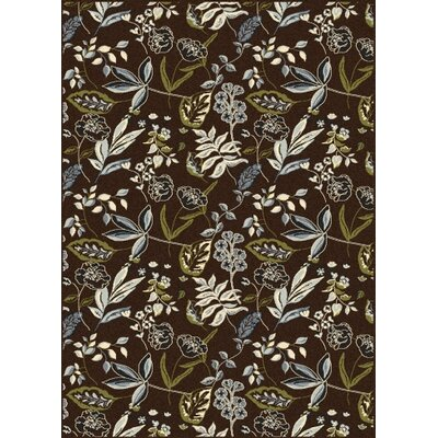 Windsor Brown Area Rug Rug Size: Rectangle 33 x 411