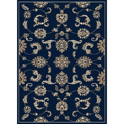 Windsor Blue Area Rug Rug Size: 79 x 11