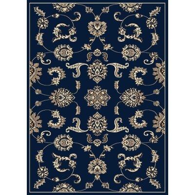 Windsor Blue Area Rug Rug Size: 33 x 411