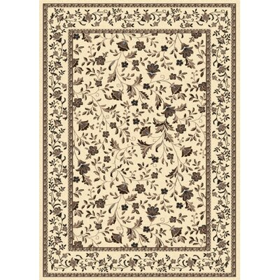 Windsor Ivory Area Rug Rug Size: Runner 22 x 77