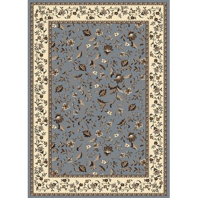 Weiser Blue Area Rug Rug Size: Rectangle 55 x 77