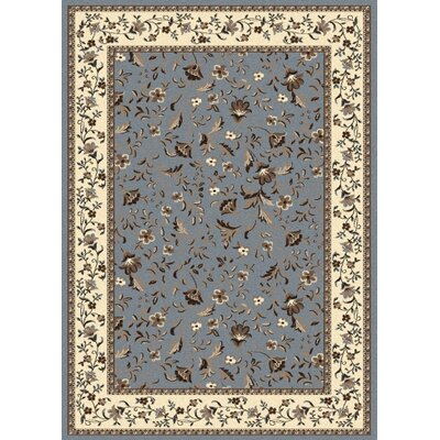 Windsor Blue Area Rug Rug Size: Runner 22 x 77
