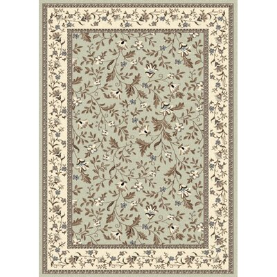Windsor Green Area Rug Rug Size: 910 x 1210