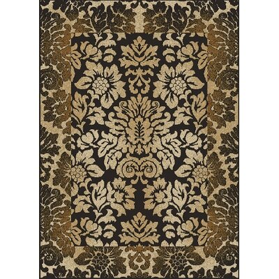 Gagetown Brown Area Rug Rug Size: Rectangle 55 x 77