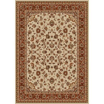 Colebrook Ivory Area Rug Rug Size: Rectangle 33 x 411