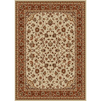 Colebrook Ivory Area Rug Rug Size: Rectangle 9'10