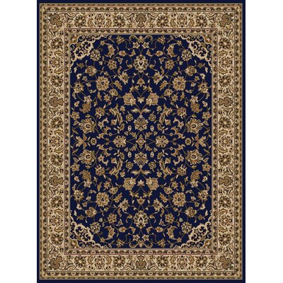 Colebrook Blue Area Rug Rug Size: Rectangle 55 x 77
