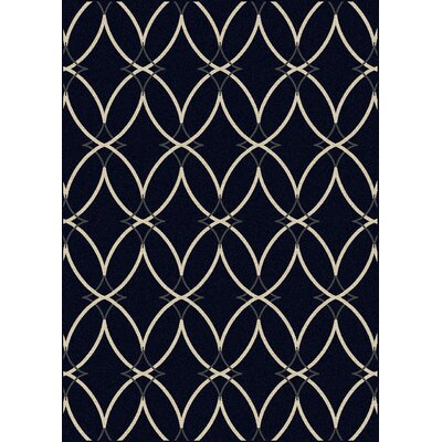 Hampton Navy Area Rug Rug Size: Runner 22 x 77
